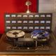 magnéto à bande analogique studio d'enregistrement